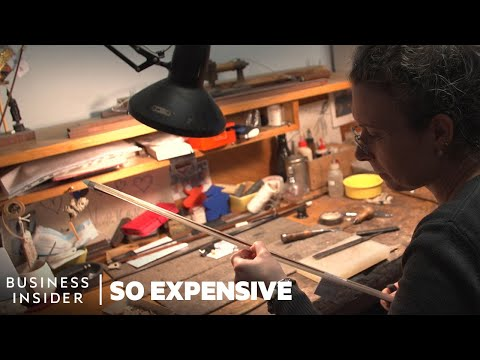 Why Violin Bows Are So Expensive | So Expensive