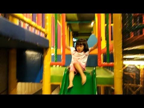 Video Indoor Playground for kids, Tempat bermain anak dan mandi bola di jakarta