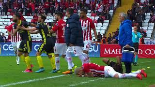 Antalyaspor 3 - 1 Evkur Yeni Malatyaspor #Özet