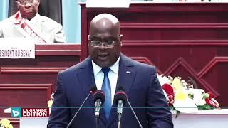Congrès: Félix Tshisekedi appelle à l'unité et à la solidarité pour un grand Congo