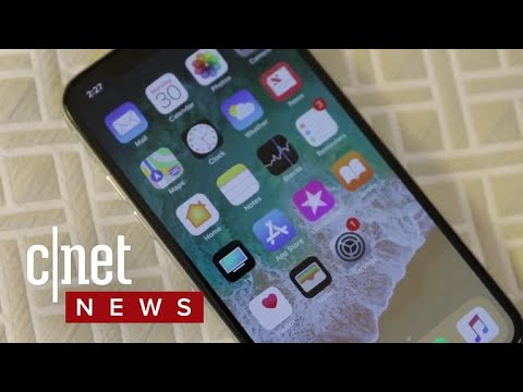 Apple iPhone X production cut in half? (CNET News)