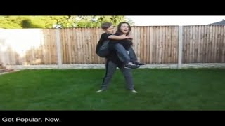 Piggybacking My Brother For 10 Minutes - #LiftAGuyChallenge