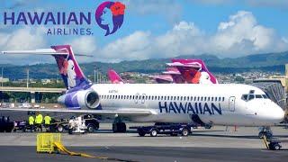 Hawaiian Boeing 717, 🇺🇸 Honolulu ✈️ Hilo 🇺🇸 Hawaii Big Island [FULL FLIGHT REPORT] HNL-ITO