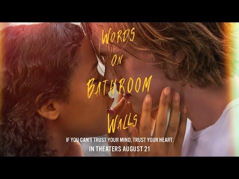 """Video trailer för Words on Bathroom Walls   Official Digital Spot """"First""""   August 21"""