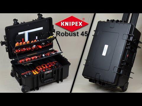 """Knipex Werkzeugkoffer """"Robust 45"""" und Werkzeuge - Review / Vorstellung"""
