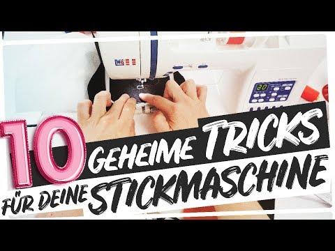 10 geheime Tipps für deine Stickmaschine | Makema.de
