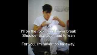 Never Alone - Jordan Knight with Lyrics