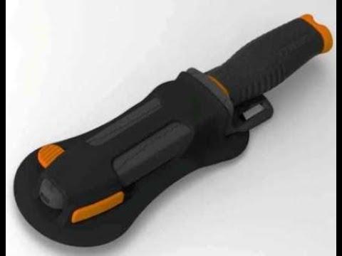 Крепление ножа Pelengas к гидрокостюму Video #1