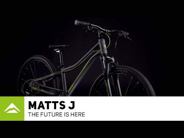 Видео Велосипед Merida Matts J24 matt cool grey (green/yellow)