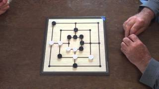 Math-GAMES: Mühle für Anfänger (Erklärung der Spielregeln in Deutsch)