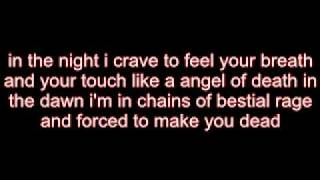 children of bodom touch like a angel of death lyrics