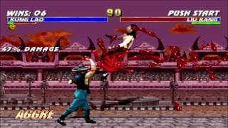 MK Trilogy Very Hard: MK2 Kung Lao Champion Ladder