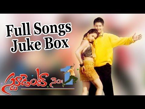 Student No.1(స్టూడెంట్ నెo 1) Telugu Movie Full Songs II Jukebox II Jr.N.T.R, Ghajala