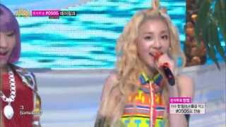 [HOT] 2NE1 - Falling in love, 투애니원 - 폴링 인 러브, Music core 20130720