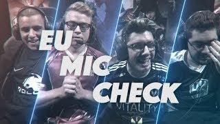 EU LCS Mic Check: Week 1   Spring Split 2018