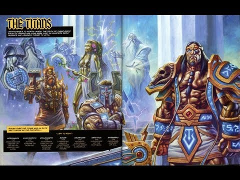 The Lore of Titans & Old Gods - Part 1/3
