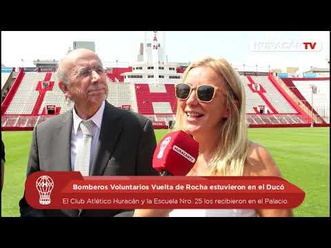 Huracán recibió a Bomberos Vuelta de Rocha en el Ducó
