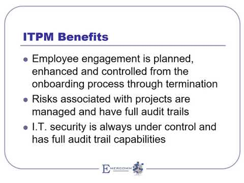 ITPM Overview