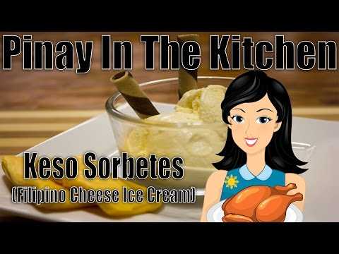 Video How To Make Keso Sorbetes (Filipino Cheese Ice Cream) With Pinay In The Kitchen