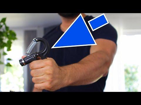 Unterarme trainieren mit einem Grifftrainer