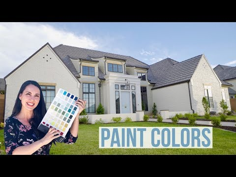How We Chose the Paint Colors for Our Dream Home Build