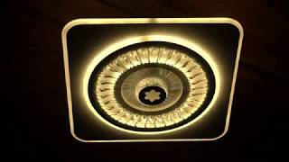 Видео о 7007 - GL led (166W) люстра