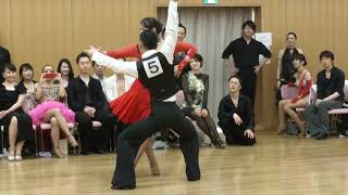 社交ダンス ルンバ 第1位 第13回ヤングサークル10ダンス選手権 若者サークル競技会