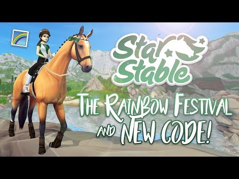 The Rainbow Festival & NEW code! | Star Stable Updates