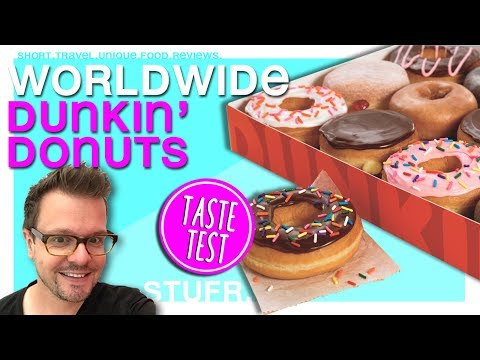 Dunkin' Donuts review – donuts all over the world [ food review ]