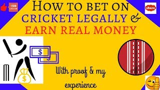 Earn money ?? by watching cricket.