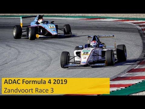ADAC Formula 4 Race 3 Zandvoort 2019 English Re-Live
