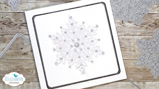 Sparkling Snowflake Card | Technique Friday With Els