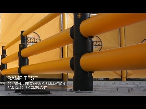 Ramp test: iFlex Double Traffic Barrier+