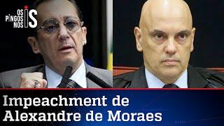 Kajuru pede impeachment de Alexandre de Moraes