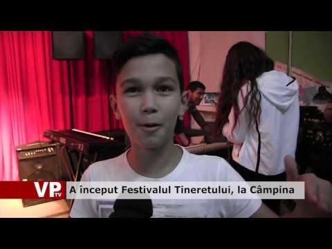 A început Festivalul Tineretului, la Câmpina