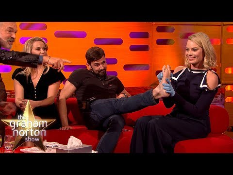 Margot Robbie TATTOOS One of the Production Staff! | The Graham Norton Show