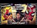 Ranking All 9 Spider-Verse Movies Worst to Best