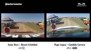 preview picture of video 'Rally Tierra TC Paracuellos del Jarama 2014 Isaac Vera VS Pepe López'