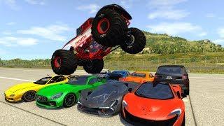 Crash Testing Real Car Mods #6 - Beamng Drive Car Crashes Compilation