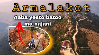 Crazy off-road ride || Group ride to armalakot || Royal enfield race|| Drone shots