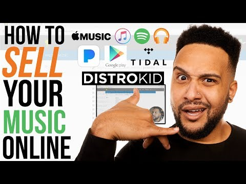 How To Sell Your Music On Spotify, Apple Music, Tidal (Step By Step Tutorial)