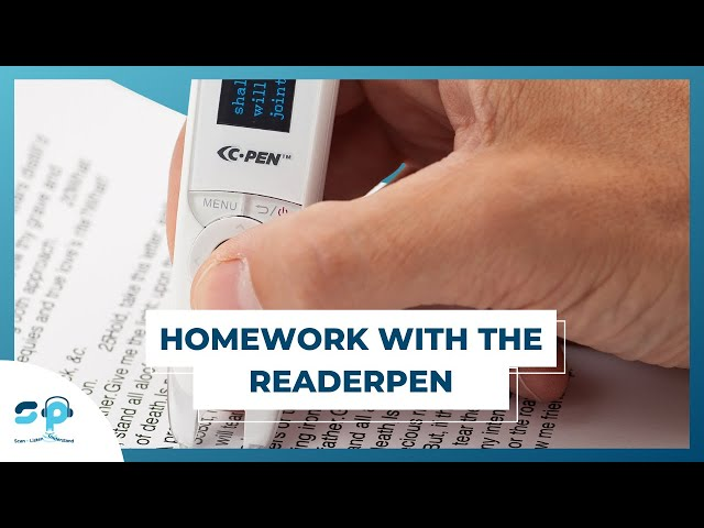 ReaderPenUS|Videos|Andrew from Tennessee doing his homework with the ReaderPen