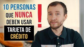 Video: 10 Personas Que NUNCA Deben Usar Tarjeta De Crédito