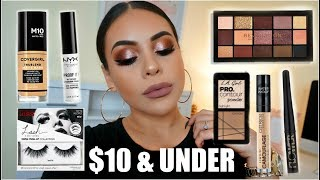 FULL FACE NOTHING OVER $10: AFFORDABLE MAKEUP