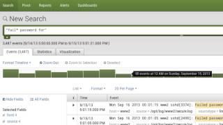 """""""Splunk Enterprise 6 Basic Search"""""""
