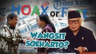 Hoax or Fact : Wangsit Soeharto Soal Prabowo-Puan di Pilpres 2024