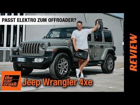 Jeep Wrangler 4xe (2021) Plug-in-Hybrid: Passt ELEKTRO zum Offroader? 😡 Fahrbericht   Review   Test