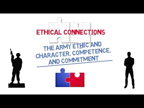 Ethical Connections: The Army Ethic and Character, Competence, and Commitment Screenshot