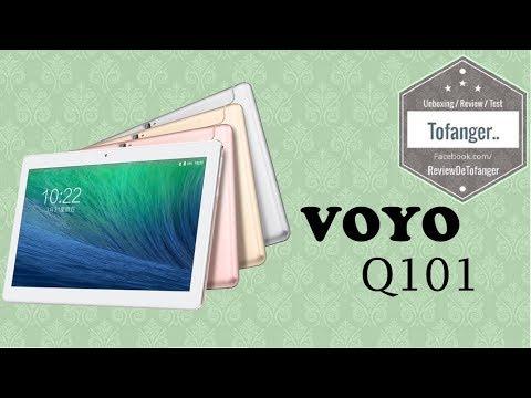 VOYO Q101 4G Phablet : Tablette 10 pouces sous ANDROID 7