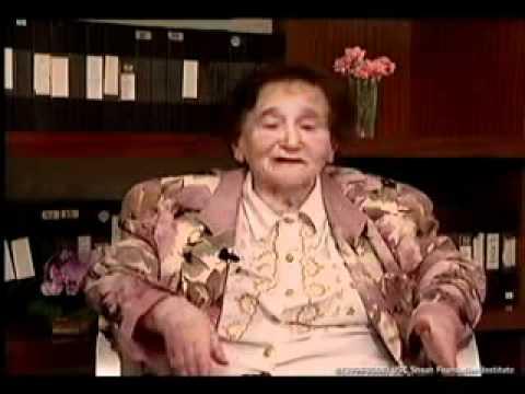 Elena Cederboim se refiere a una «Aktion» en el gueto de Lodz